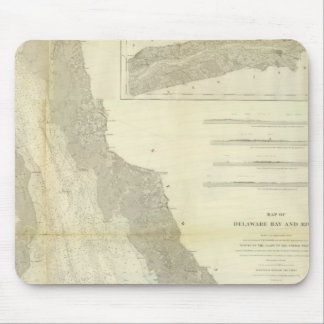 Composite Delaware Bay, River Mouse Pad