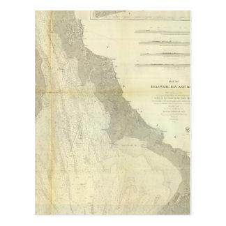Composite Delaware Bay River Postcard