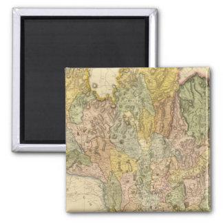 Composite Dumfriesshire 2 Inch Square Magnet