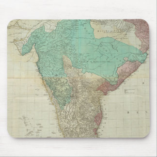 Composite East Indies with roads Mouse Pad