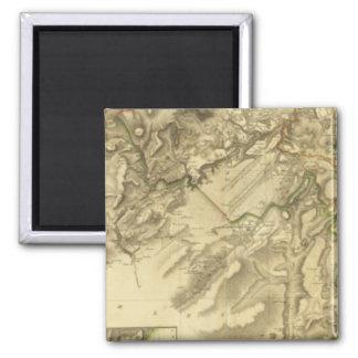 Composite Edinburgh Shire 2 Inch Square Magnet