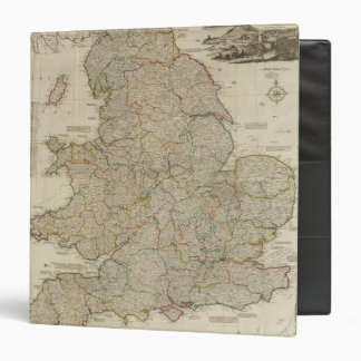Composite England, Wales 3 Ring Binder