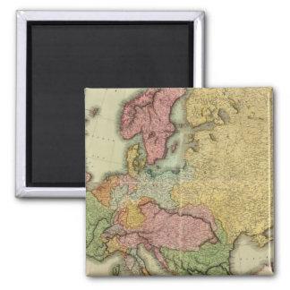 Composite Europe 2 Inch Square Magnet