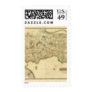 Composite Fife, Kinross Postage Stamp