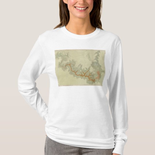 Composite Geologic map of Kaibab Plateau T-Shirt