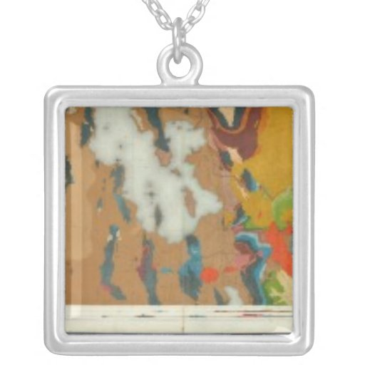 Composite Geological maps IV, 40th Parallel Survey Necklace