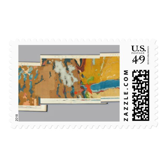 Composite Geological maps IV, 40th Parallel Survey Postage