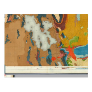 Composite Geological maps IV, 40th Parallel Survey Postcard