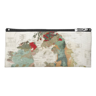 Composite Geological, palaeontological map Pencil Case