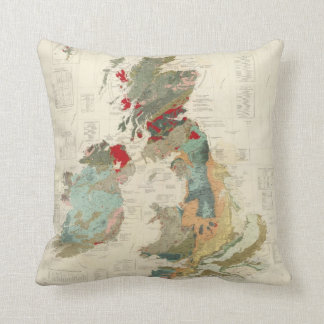 Composite Geological, palaeontological map Pillow