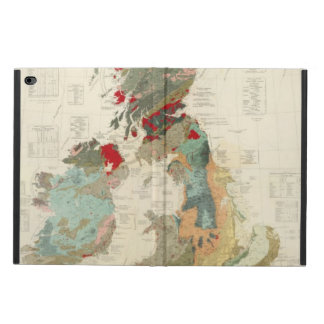 Composite Geological, palaeontological map Powis iPad Air 2 Case