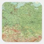 Composite Germany Square Sticker