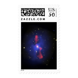 Composite image of a galaxy cluster postage