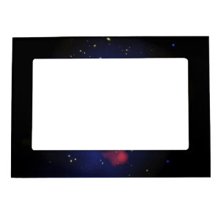 Composite Image of Galaxy Cluster MS 0735 Picture Frame Magnets