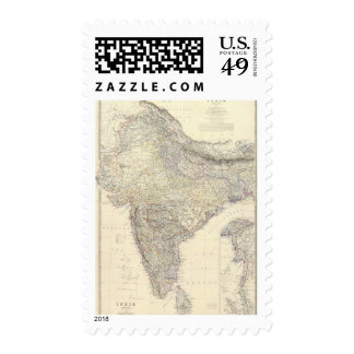 Composite India 2 Postage Stamps