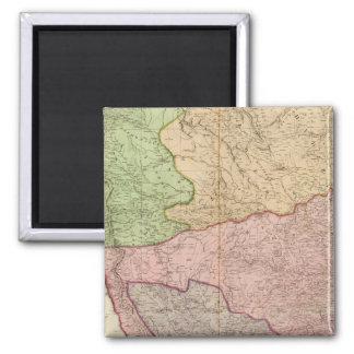 Composite India peninsula 2 Inch Square Magnet