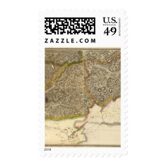 Composite Inverness Shire 2 Postage Stamp