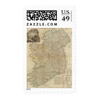 Composite Ireland Postage Stamp