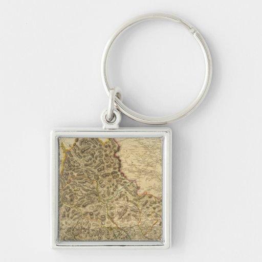 Composite Kirkcudbright Shire Key Chain