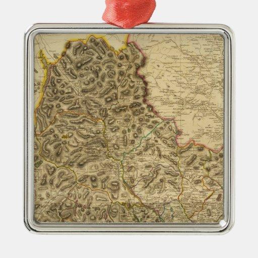 Composite Kirkcudbright Shire Metal Ornament