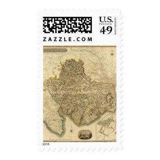 Composite Kirkcudbright Shire Postage Stamps