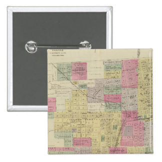 Composite Leavenworth, Kansas Button