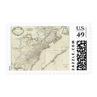 Composite Map of Canada Postage