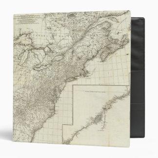 Composite Map of Canada Vinyl Binder