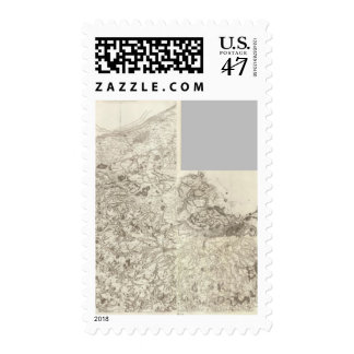 Composite Map of France 10 Postage