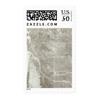 Composite Map of France 3 Postage