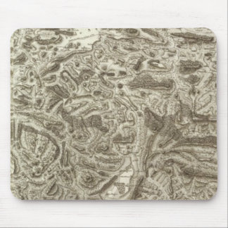 Composite Map of France Mouse Pad