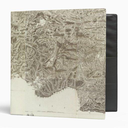 Composite Map of France Vinyl Binder