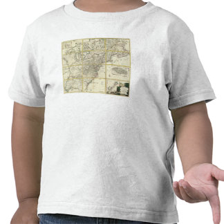 Composite map of United States Shirts