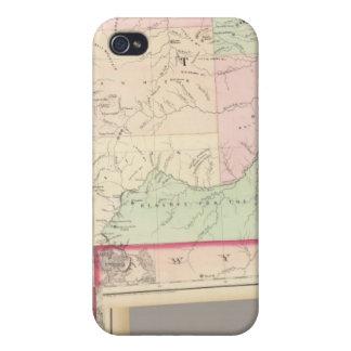 Composite Montana, Idaho iPhone 4 Covers