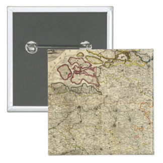 Composite Netherlands 2 Inch Square Button