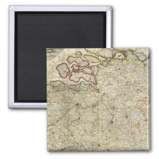 Composite Netherlands 2 Inch Square Magnet