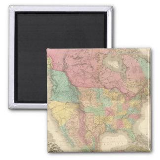 Composite North America 3 2 Inch Square Magnet