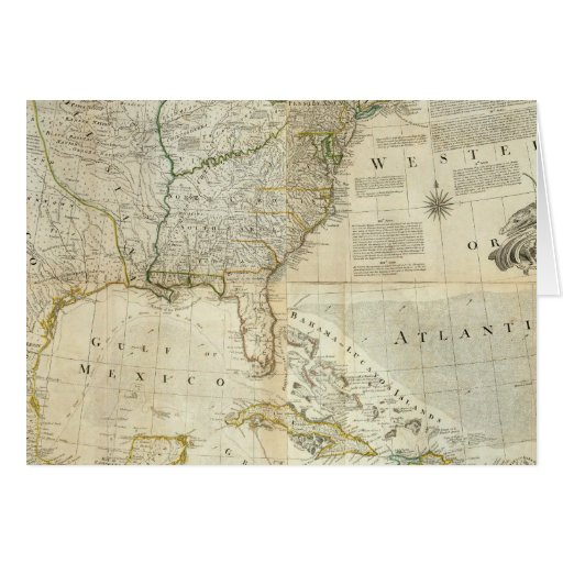 Composite North America Greeting Cards