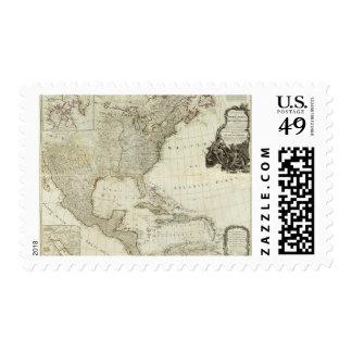 Composite North America, West India Islands Postage