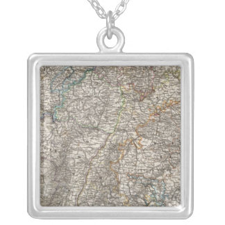Composite of Southwestern Germany Square Pendant Necklace