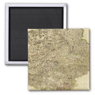 Composite Perthshire 2 Inch Square Magnet