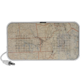 Composite Rhode Island Map Mini Speaker