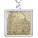 Composite Ross, Cromarty Shires Square Pendant Necklace