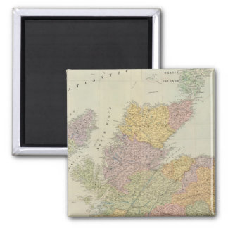 Composite Scotland 2 Inch Square Magnet