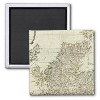 Composite Scotland or North Britain Magnet