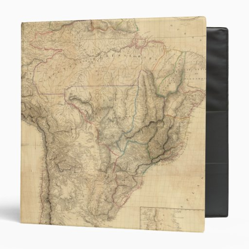 Composite South America 4 3 Ring Binder