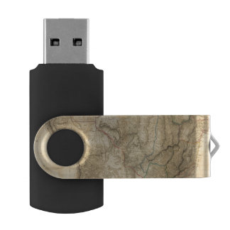 Composite South America 4 Swivel USB 2.0 Flash Drive