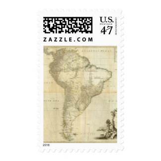 Composite South America Postage
