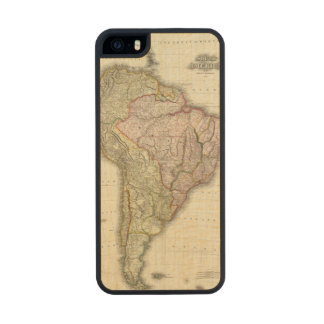 Composite South America, West Indies Carved® Maple iPhone 5 Slim Case