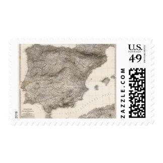 Composite Spanien, Portugal in 4 Blattern Stamp